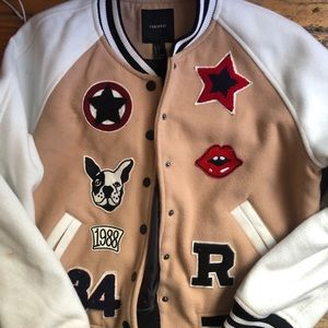 FOREVER21 BOMBER JACKET, size Small,